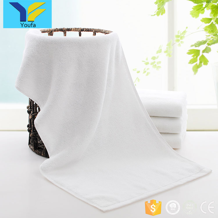 Soft wholesale custom embroidered white towels bath set luxury hotel 100% cotton terry cloth towels buyers in usa