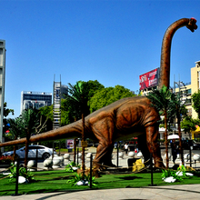 China vivid giant mechanical artificial dinosaur wholesale