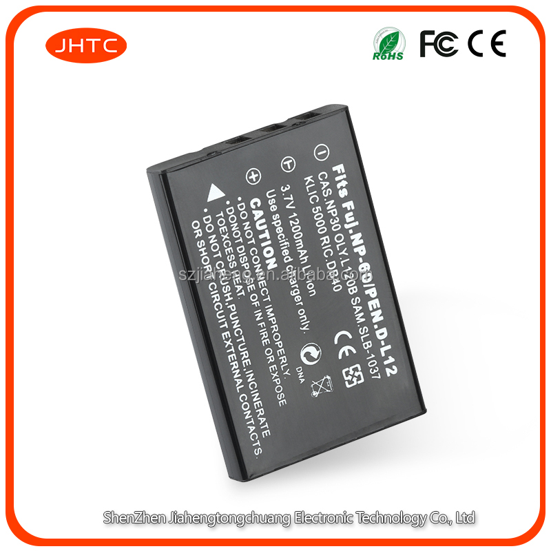 NP-60 NP60 FNP-60 Camera Battery for Fuji FinePix M603 F601 F410 F401