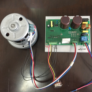 Professional factory speed controller electric vehicle brushless dc blower motor