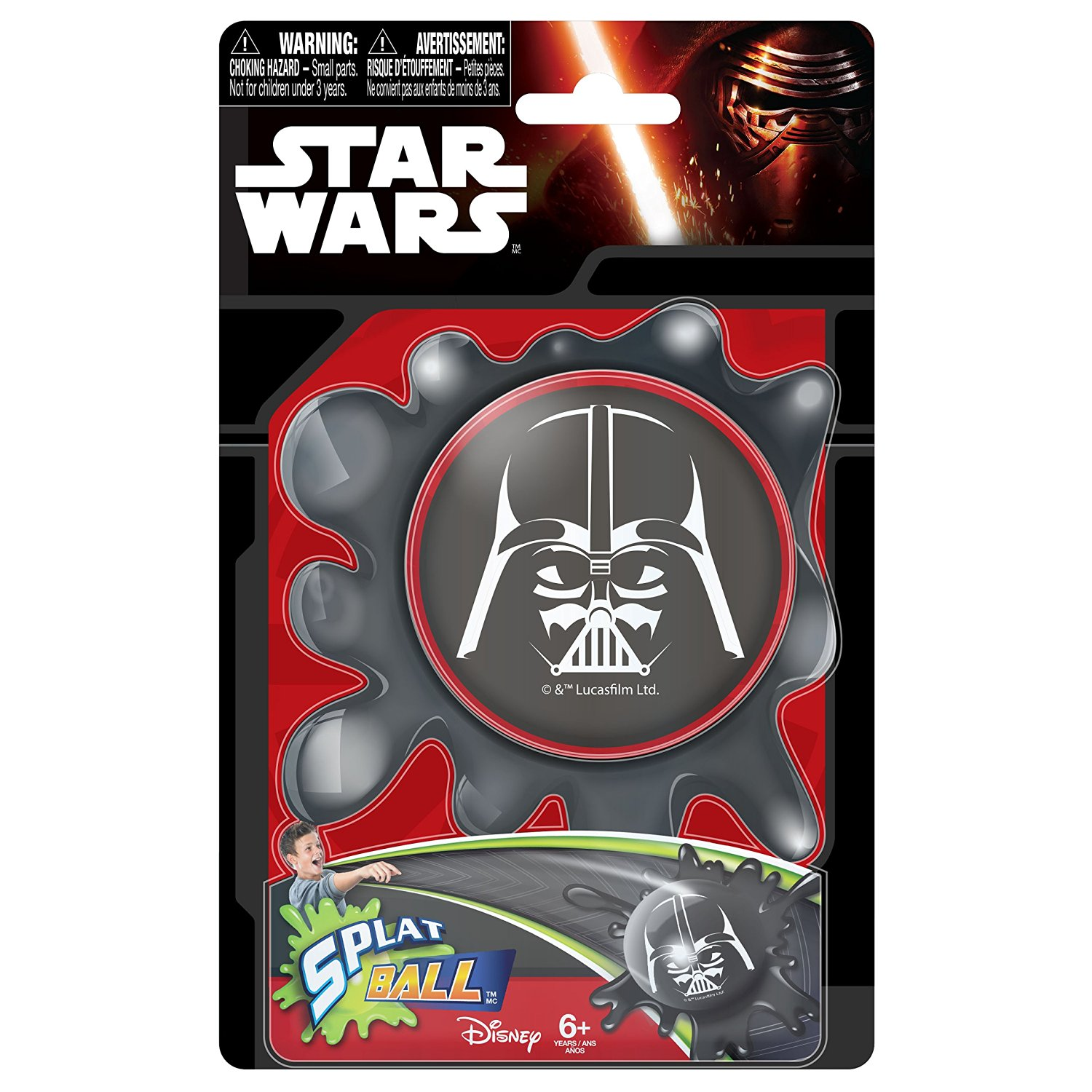 Star Wars Splat Ball Darth Vader