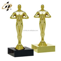 Customize design metal made 3D gold souvenir trophies