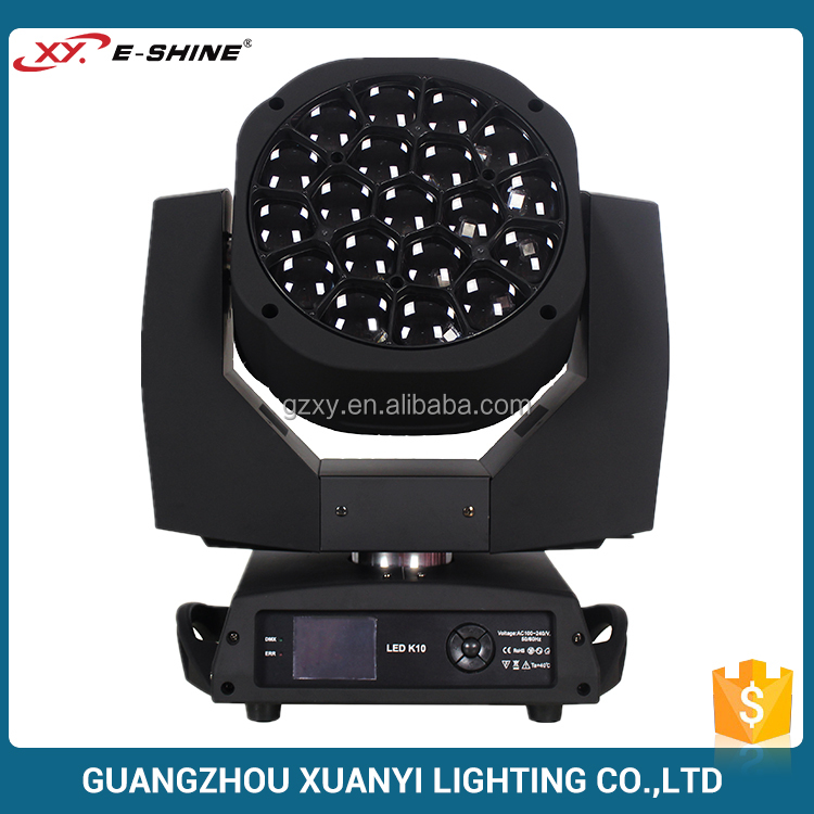 19x15w led wash moving head bee eyes mini moving head