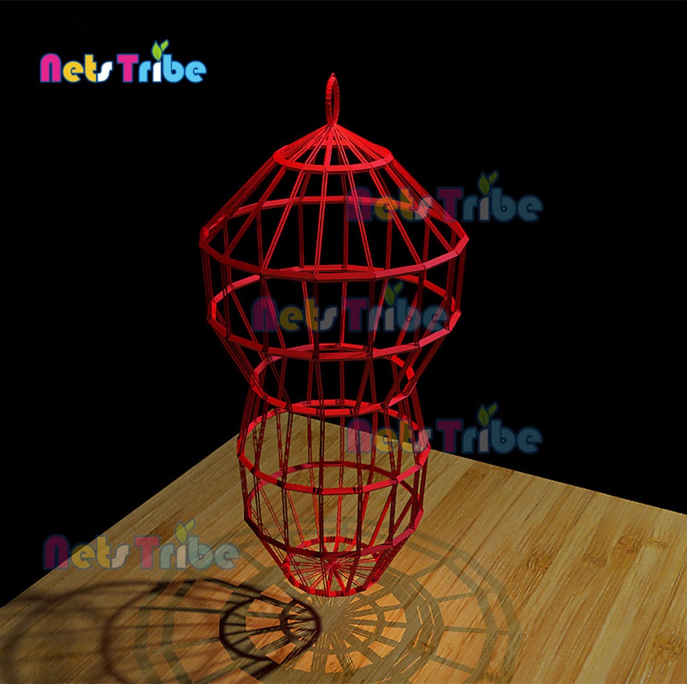 Pure manual woven amusement product bird cage indoor playground