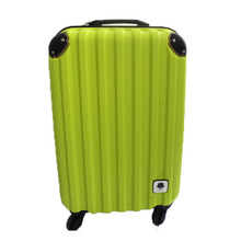Inexpensive ABS Hard Shell Carry-on Luggage 4 wheels With Customized Logo