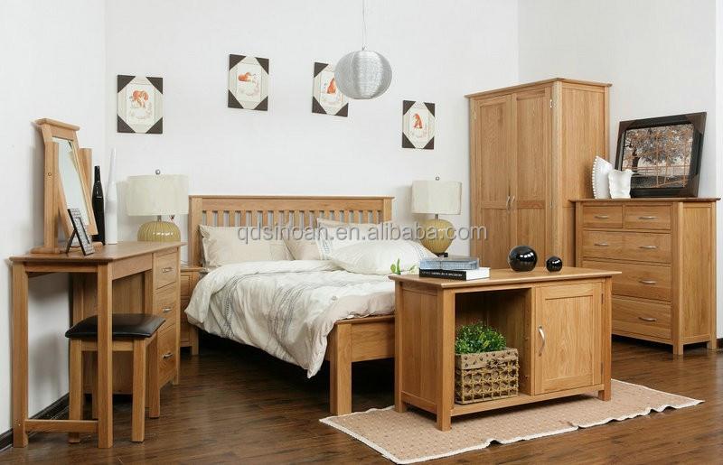 chinese fabrikant van eiken meubelen houten eiken slaapkamer meubilair ...