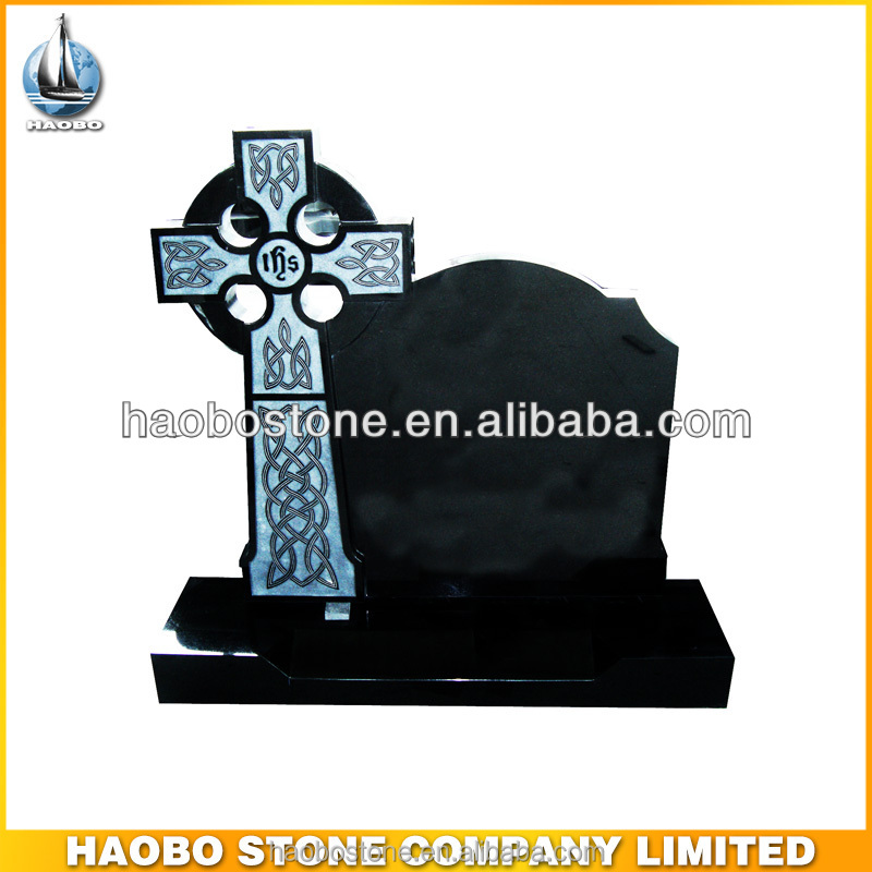 Celtic cross headstonesgrave monument buy black granite cross celtic cross headstonesgrave monument buy black granite cross tombstonecemetery headstone tombstonewedding invitation card tombstone product on stopboris Gallery