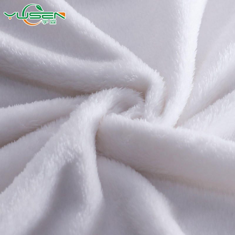 China manufacturer 100% polyester DTY super soft velboa plush fabric for toys