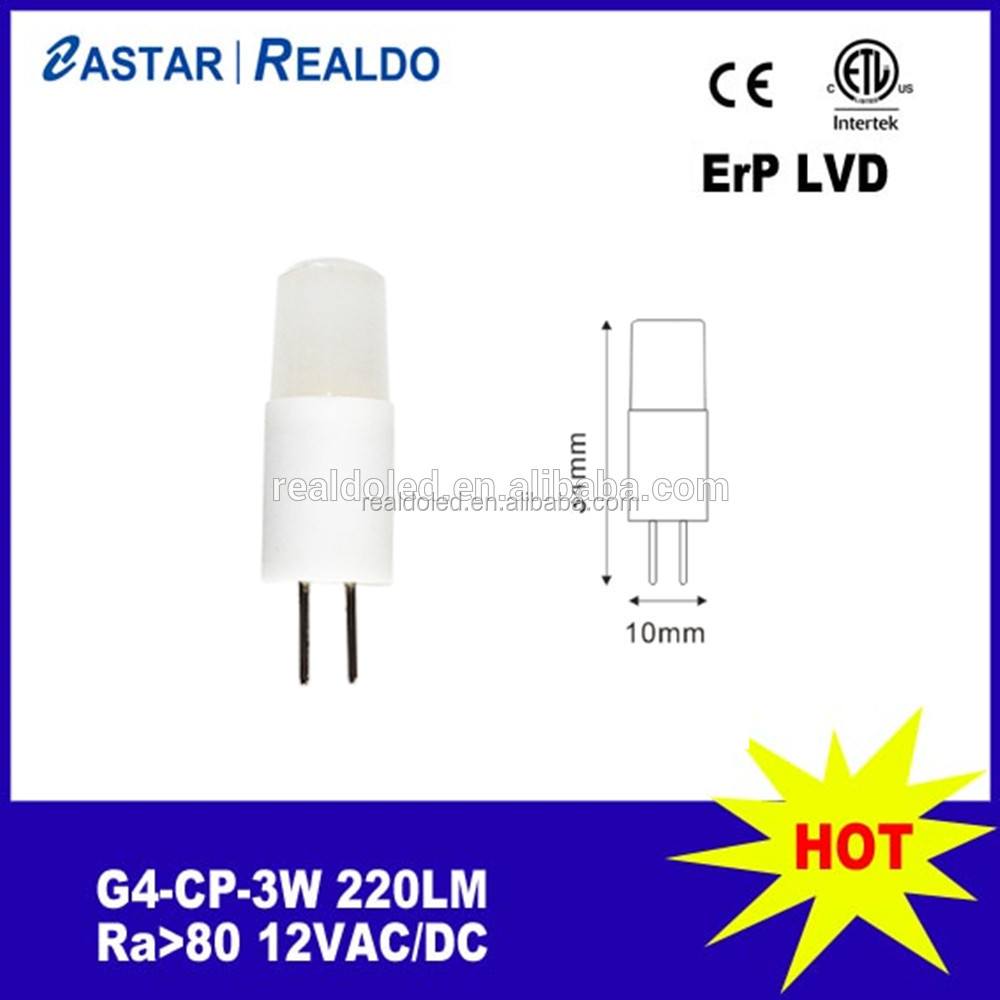 Small size G4 led bulb 1W 12V