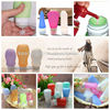 Food Grade Squeeze Silicone Liquid Bottle Perfume Refill Bottle