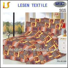 polyester printed peach skin home fabric/textile for garden bedclothes,bedding,home textile