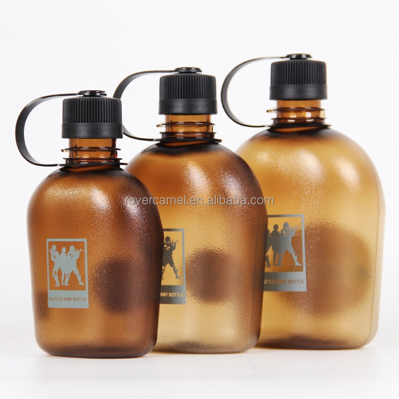 Plastic Tritan Army Water bottle Military canteen plastic