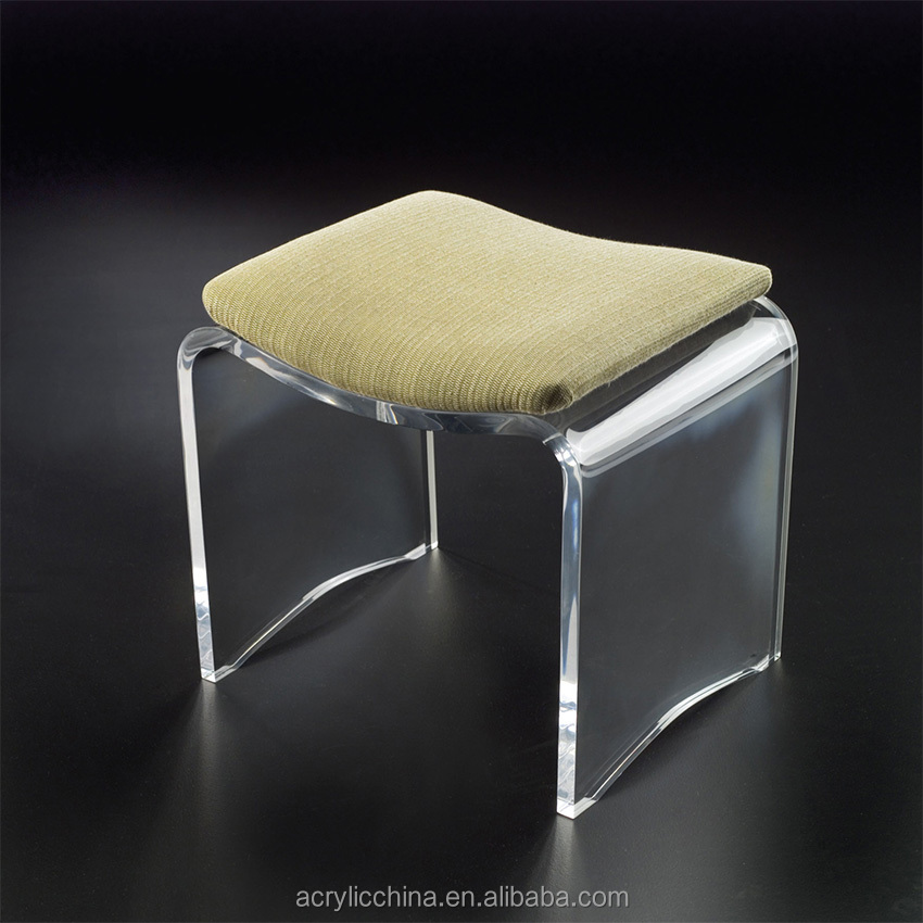 Acrylic Vanity Stool, Acrylic Vanity Stool Suppliers And Manufacturers At  Alibaba.com