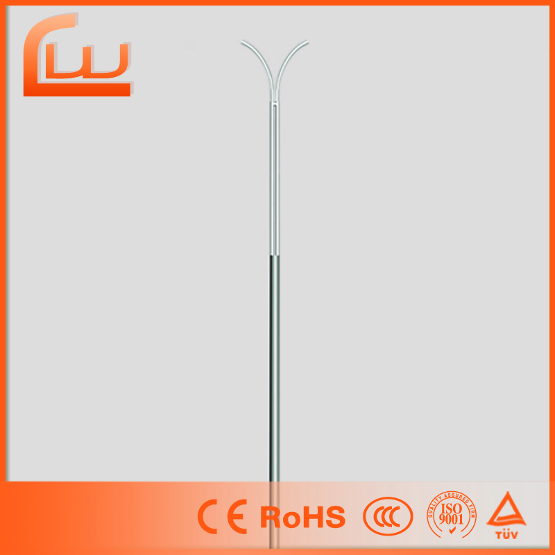 Suitable price drawing frp new design street lighting pole