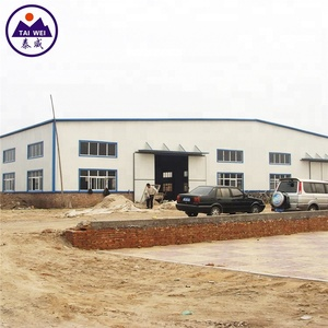 Widely used structure building steel shed prefabricated for sale