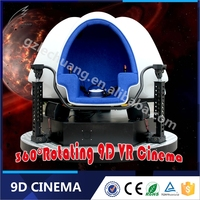 Electric System Newest Interactive Games Machine Attractive Patent Egg Design 9D VR Cinema
