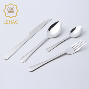 2018 Amazon Top Seller 18\/10 Stainless Steel Cutlery Set Flatware In Stock