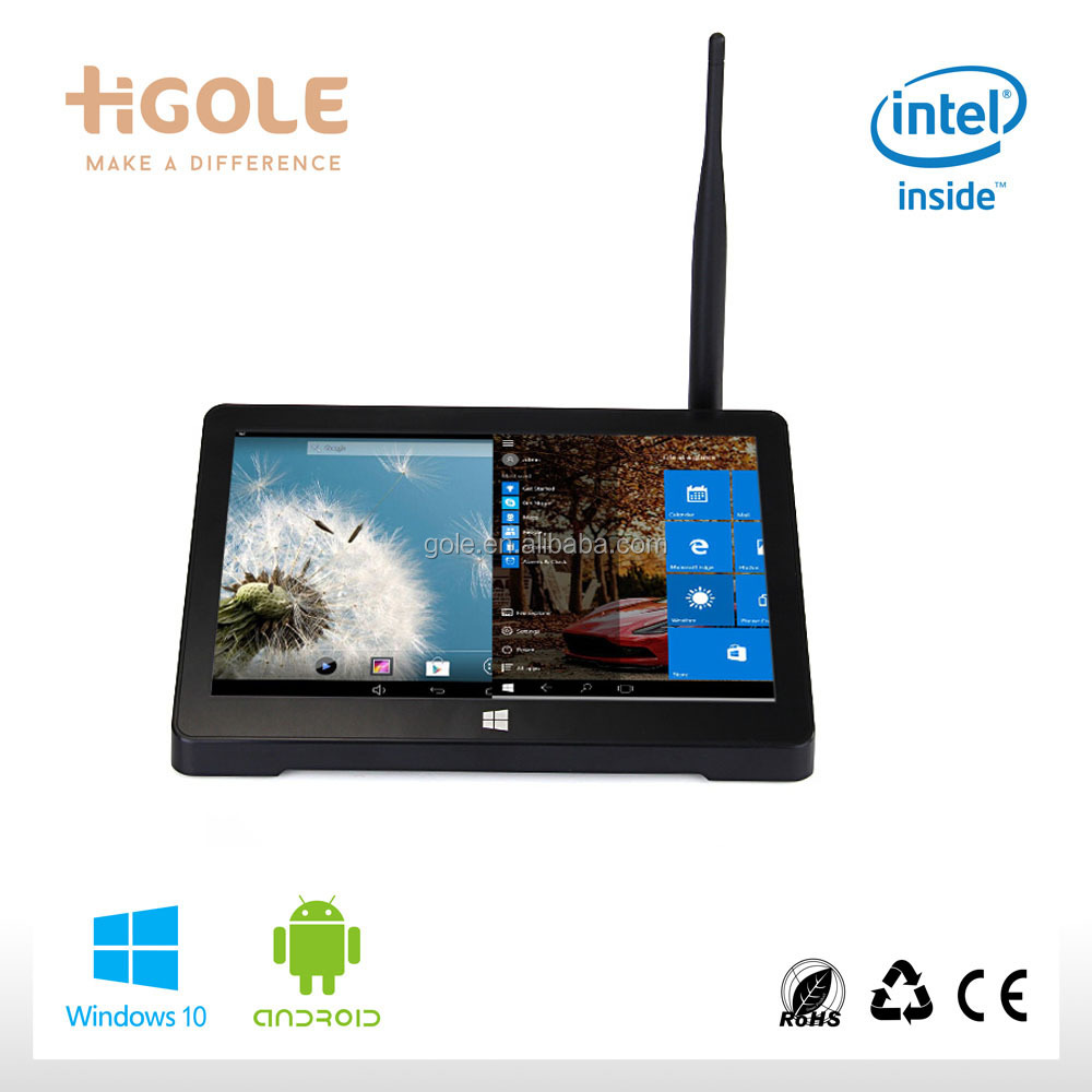 Factory new pipo mini pc 7inch IPS screen Dual OS intel atom z3735 MINI tv box tablets PC фото