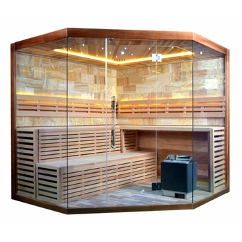 6 Person Hemlock And Plywood Build Steam Sauna Buy Steam Sauna