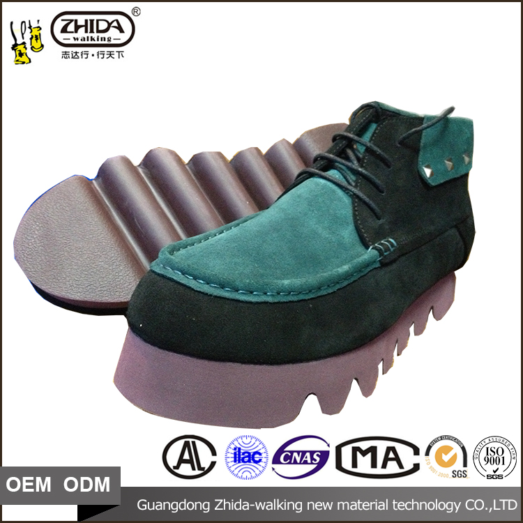 Superior rubber Outsole Material and Men Gender mens exotic fashion shoes sole with size 37-43