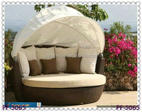 outdoor Furniture lounge Sets rattan Sun Bed PF-5065