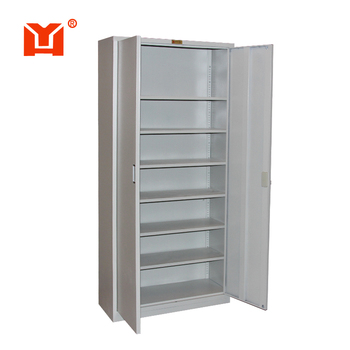 Workable Furniture Steel File Cabinet 2 Door Round File Cabinet ...
