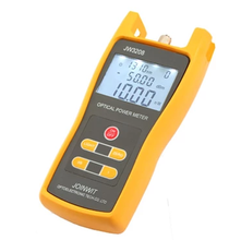 JW3216 Menghubungkan PC Melalui Kabel USB Handheld Optical Fiber Power Meter 1310nm Optical Power Meter