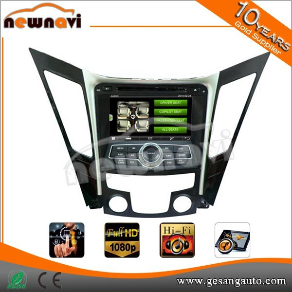Car audio DVD navigation system for hyundai, Telephone book,AUX IN,GPS,WIFI,3G, car audio system