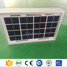 Low price 5v 6v 9v 12V mini solar panel / 1.5W 3W 5W 10w solar panel