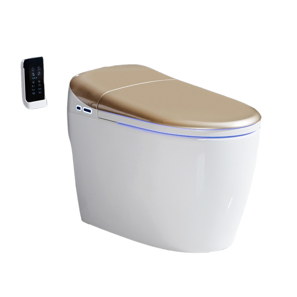 High quality Wc bidet toilet seat electronic automatic intelligent toilet