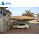 Steel structure tensile membrane fabric canopy awning carport tents car porch garage awning