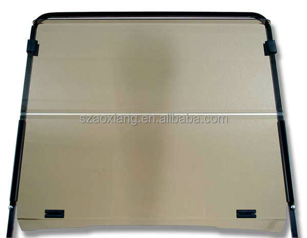 Golf Cart Spare parts and Accessory:Acrylic Split Windshield for EZGO TXT and RXV