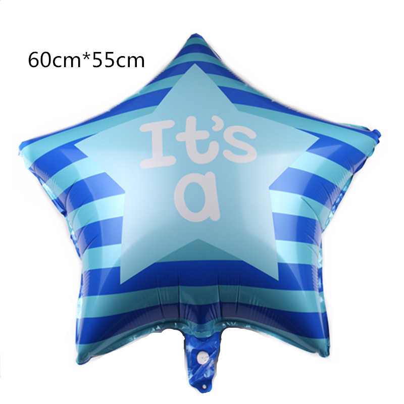 Wholesale  Yiwu Cheap New Baby It's a Boy Girl Pink Blue Foil Balloon Baby Shower Gender Reveal Party Decor Balloons Globos