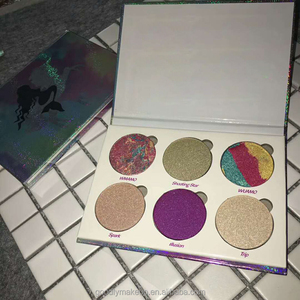 Eye Shadow Palettes Glitter Eyeshadow Set Palette Naked Matte Bronzer 6 Color Makeup Eyeshadow Palette