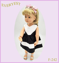 BJD 18 inch nude american girl doll with outfit