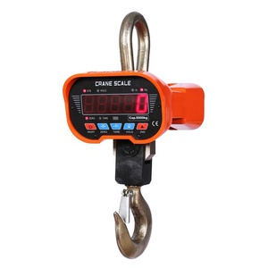 OCS-B 5T LED electric compact hoist construction weighing machine