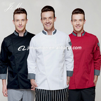 Wholesale kitchens and restaurants Cooking Uniform Jacket Design And Chef Jacket