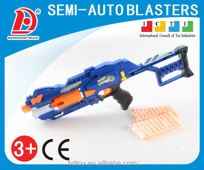 new style popular boy toy battery operated soft bullet gun