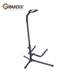Single Acoustic and Bass tripod guitar foot stand