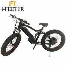 i-feeter Fat Tire Electric Mountain Bike High Quality Cool bicycle Battery Powered e-bike