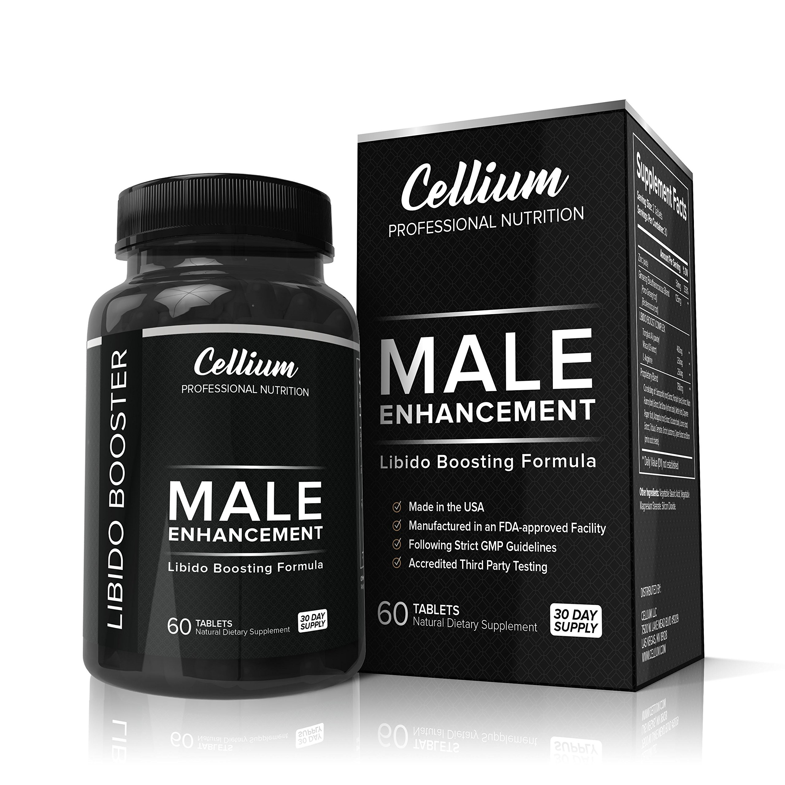 FLASH SALE - Male Enhancement Pills - ENHANCE Libido, PROMOTE Blood Flow & BOOST Energy - All Natural Supplement, INCREASES Stamina, Performance & Testosterone