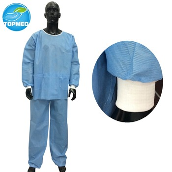 878ef9a7496 Nurse Pp Disposable Scrub Suits For Operating Theatre Wear - Buy ...