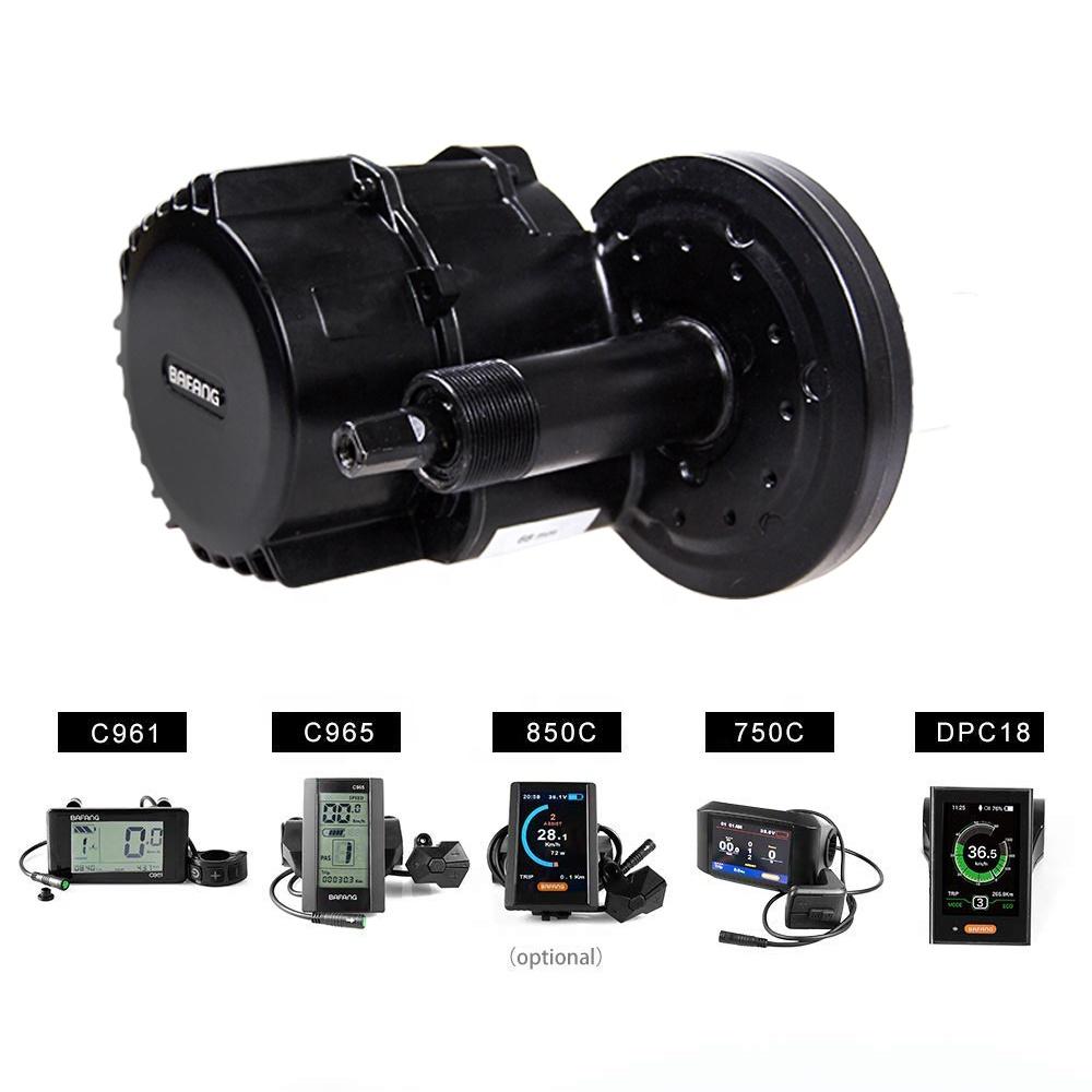 36v/48v Bafang 8fun bbs02 750w mid drive ebike central motor electric bike conversion kit