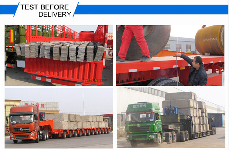 Tri-axle 40ft side wall semi trailer cargo trailer side panels flatbed trailer with removable sides