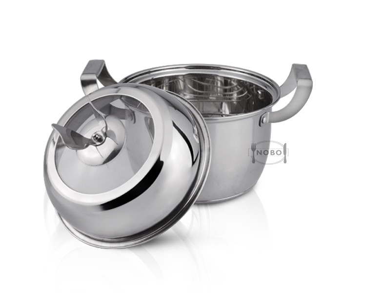 European multifunction stock pot with steamer