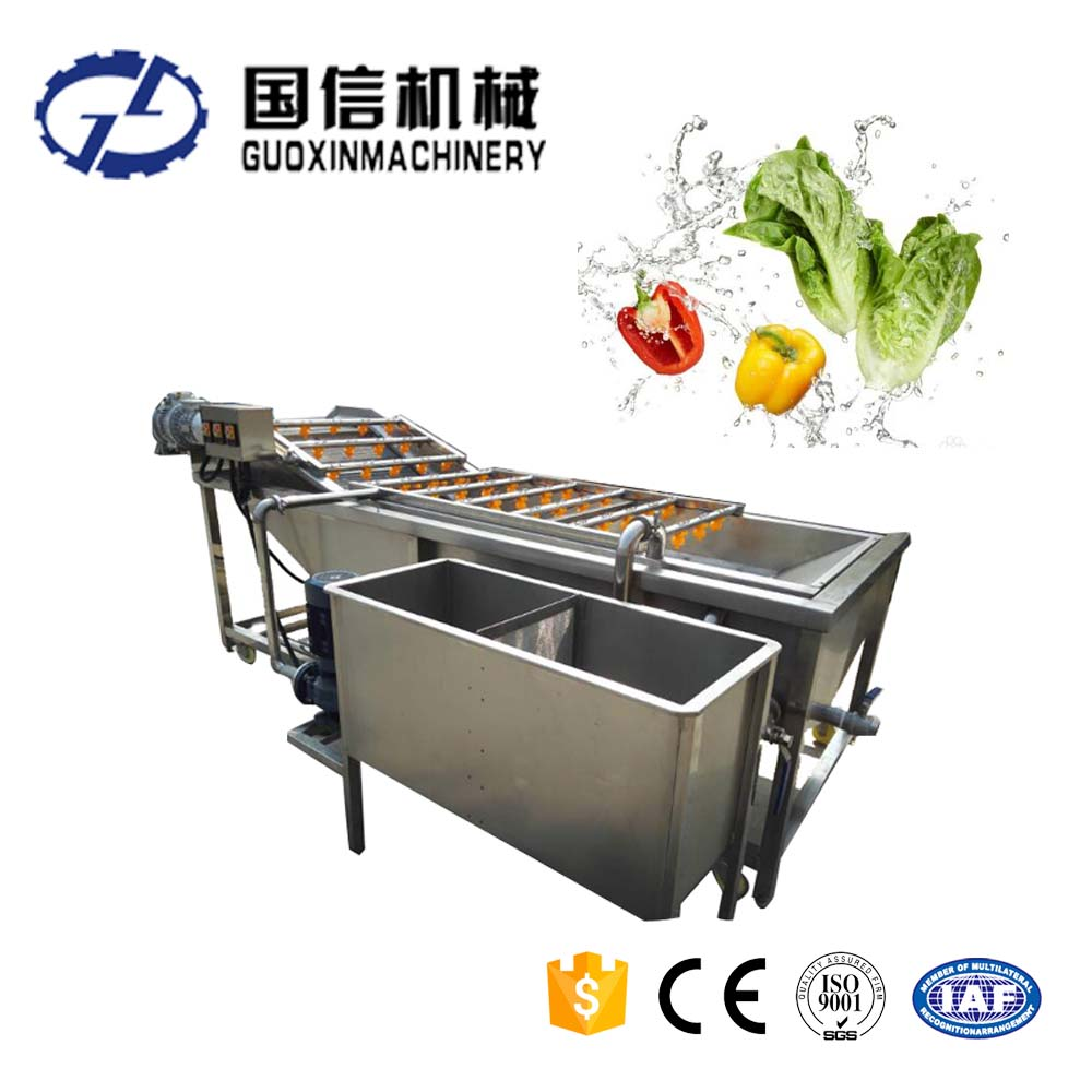 High effienciency Air bubble washing machine for fruit and vegetable processing