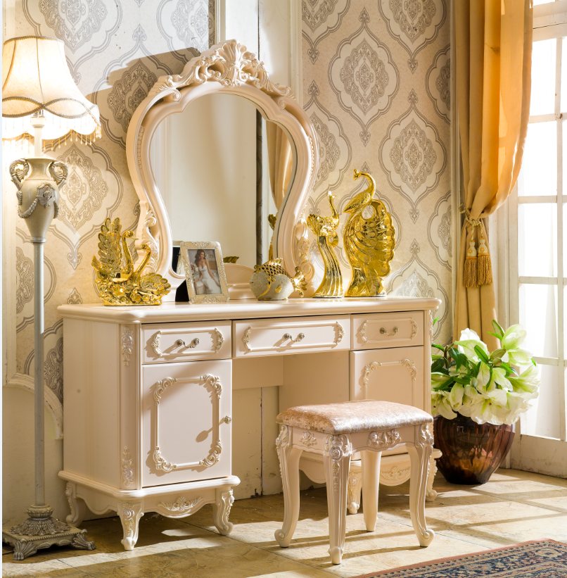 coiffeuse avec miroir et tabouret interesting coiffeuse avec miroir with coiffeuse avec miroir. Black Bedroom Furniture Sets. Home Design Ideas