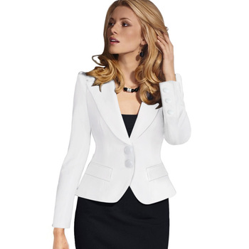 Zh0831j 2017 New Design Girl Formal Office Women Coat Business Suit