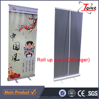 full Aluminium Roll Up Banner stand for advertising display/ Roller Banner Stand