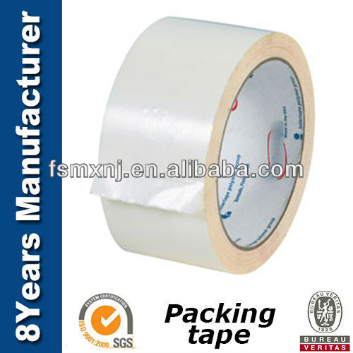 "Packaging Sealing Tape, 2"" x 55 yards, 3"" Core, Clear"